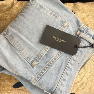 Rag & Bone/JEAN Nelly Ankle Straight Leg Jeans